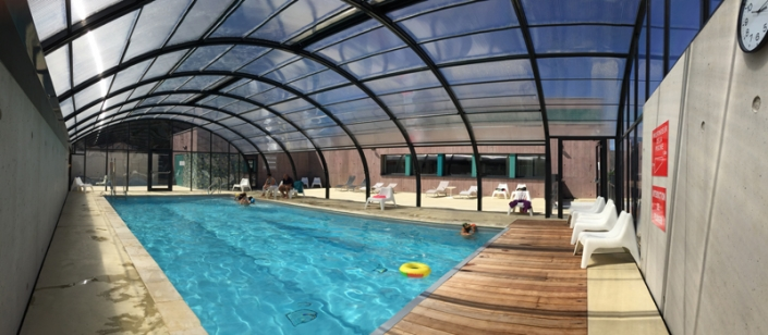 Piscine couverte Rozarmor