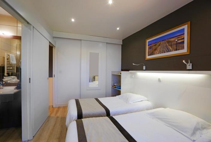 Chambres spacieuses et modernes Rozarmor